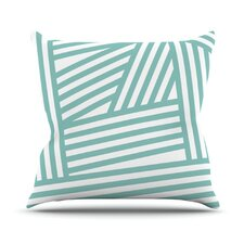 <strong>KESS InHouse</strong> Stripes Throw Pillow