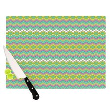 <strong>KESS InHouse</strong> Chevron Love Cutting Board