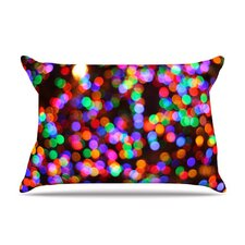 Lights II Fleece Pillow Case