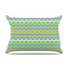 Chevron Love Fleece Pillow Case