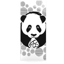Panda by Original Graphic Art Plaque