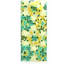 Flower Garden Mosaic by Laura Nicholson Graphic Art Plaque