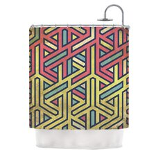 <strong>KESS InHouse</strong> Deco Polyester Shower Curtain