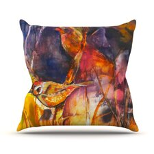 In Depth by Kristin Humphrey Throw Pillow