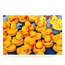 Duckies by Maynard Logan Photographic Print Plaque