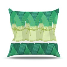 Leeks Throw Pillow