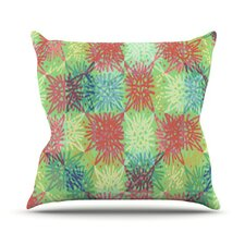 <strong>KESS InHouse</strong> Multi Lacy Throw Pillow