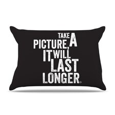 Take a Picture Fleece Pillow Case