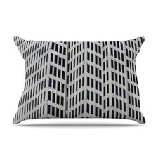 The Grid Fleece Pillow Case