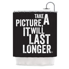 Take a Picture Polyester Shower Curtain