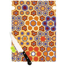 Flower Garden Cutting Board