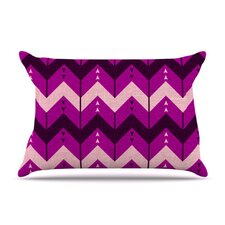 Chevron Dance Fleece Pillow Case