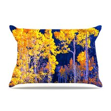 Trees Fleece Pillow Case