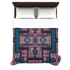 <strong>KESS InHouse</strong> Golden Art Deco Duvet Cover Collection