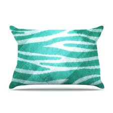 <strong>KESS InHouse</strong> Zebra Texture Fleece Pillow Case