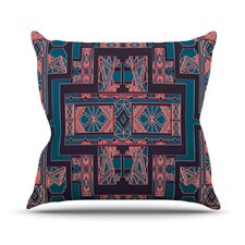 <strong>KESS InHouse</strong> Golden Art Deco Throw Pillow