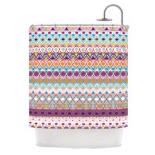 Ayasha Polyester Shower Curtain