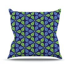 Infinite Flowers Throw Pillow