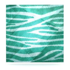 Zebra Texture Floating Art Panel
