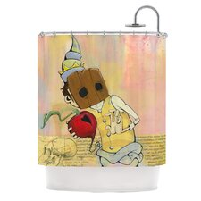Thalamus Polyester Shower Curtain