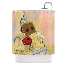 Thalamus Polyester Shower Curtain