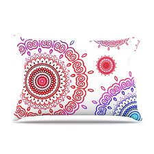 <strong>KESS InHouse</strong> Rainbow Infinity Fleece Pillow Case