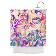 Weirdi Kat Polyester Shower Curtain
