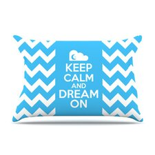Keep Calm Fleece Pillow Case