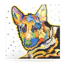 Floyd by Rebecca Fischer Painting Print Plaque
