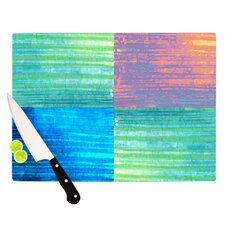 Crayon Batik Cutting Board