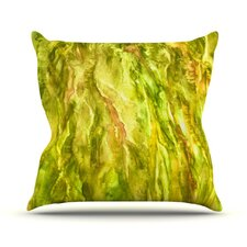 Tropical Delight by Rosie Brown Throw Pillow