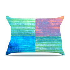 Crayon Batik Fleece Pillow Case