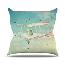 <strong>KESS InHouse</strong> Never Stop Exploring II Throw Pillow