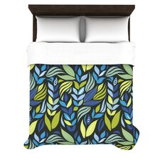 <strong>KESS InHouse</strong> Underwater Bouquet Night Duvet Cover Collection