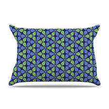 Infinite Flowers Fleece Pillow Case