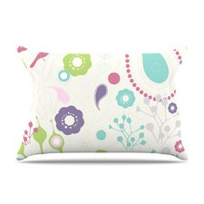 Bird Song Fleece Pillow Case