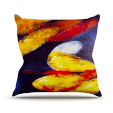 Into The Light by Rosie Brown Throw Pillow