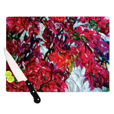 Bougainvillea Cutting Board