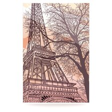 Eiffel Tower Floating Art Panel