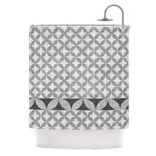 Diamond Polyester Shower Curtain