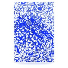 Bloom Blue for You by Vikki Salmela Graphic Art Plaque