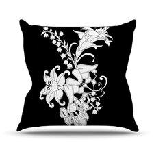 My Garden by Vikki Salmela Throw Pillow