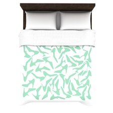 Shoe by Project M Woven Duvet Cover