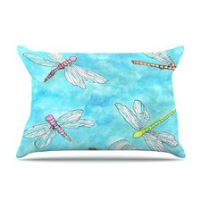 Dragonfly Fleece Pillow Case