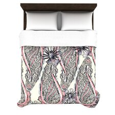 Inky Paisley Bloom Duvet Cover Collection
