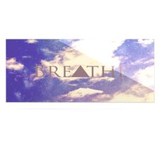 Breathe by Rachel Burbee Graphic Art Plaque