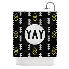 <strong>KESS InHouse</strong> Yay Polyester Shower Curtain
