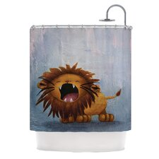 Dandy Lion Polyester Shower Curtain