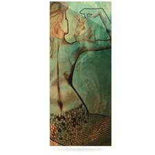 Poor Mermaid by Theresa Giolzetti Graphic Art Plaque
