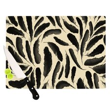 Feather Pattern Cutting Board